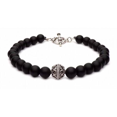 Le bracelet esprit Bali perles noir
