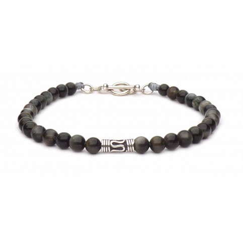 Le bracelet esprit Bali perles Oeil de faucon