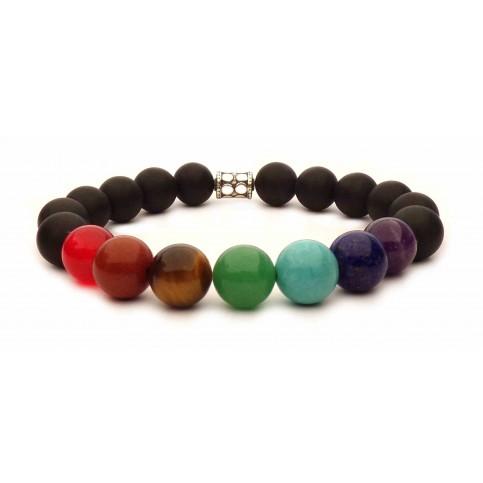 7 chakras bracelet mala