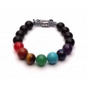 bracelet 7 chakra shamballa