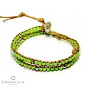 bracelet wrap vert