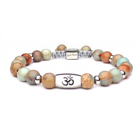 bracelet symbole om perle regalite