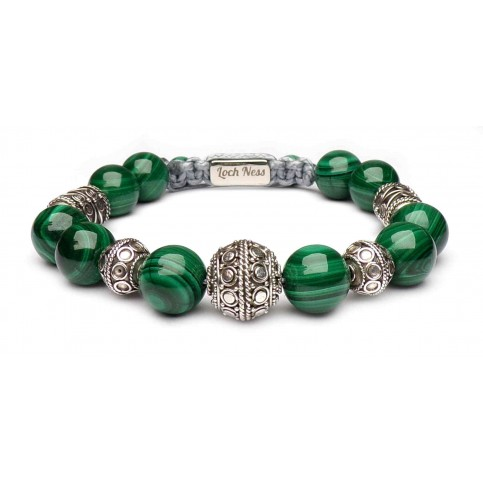 bracelet malachite pierres naturelles