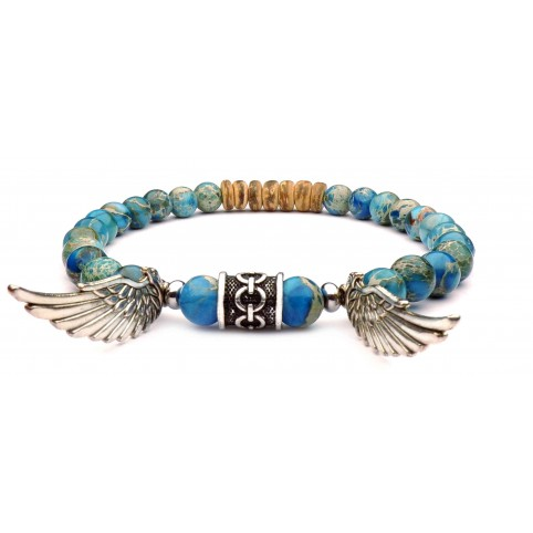 bracelet viking ailes