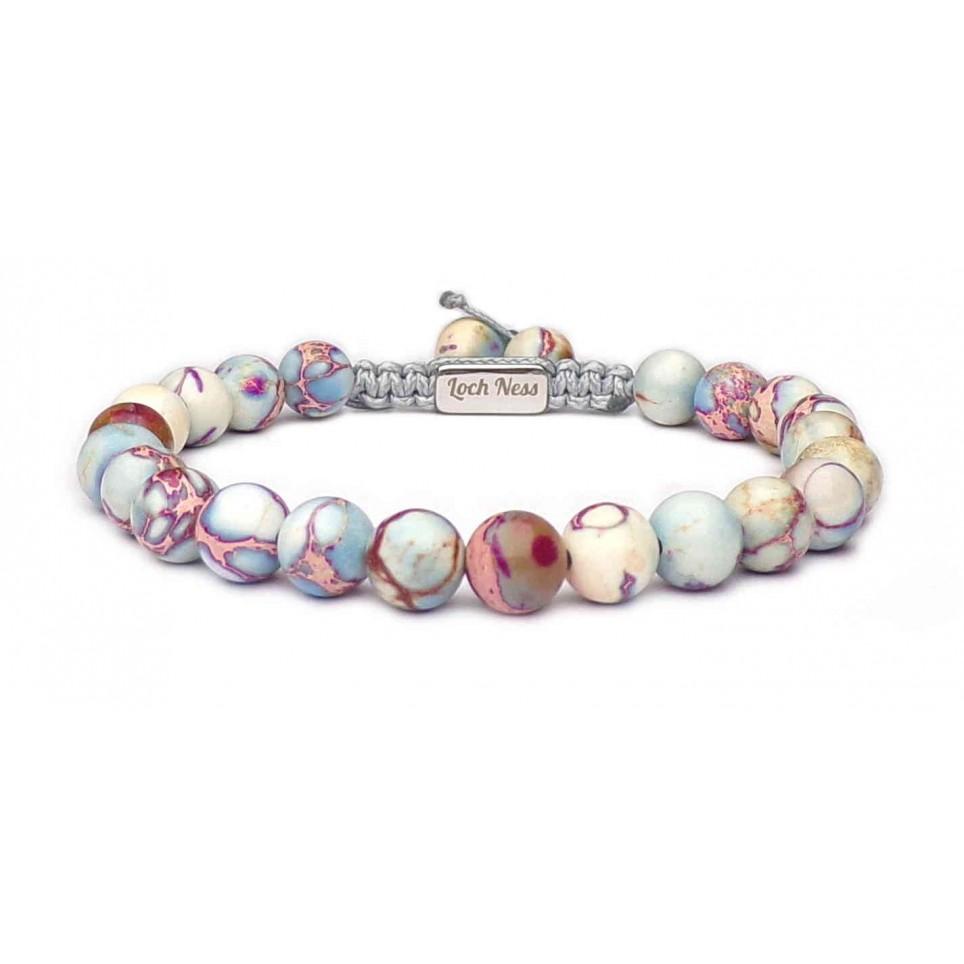 Bracelet shamballa regalite clair