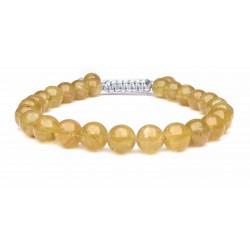 Le bracelet Apatite jaune