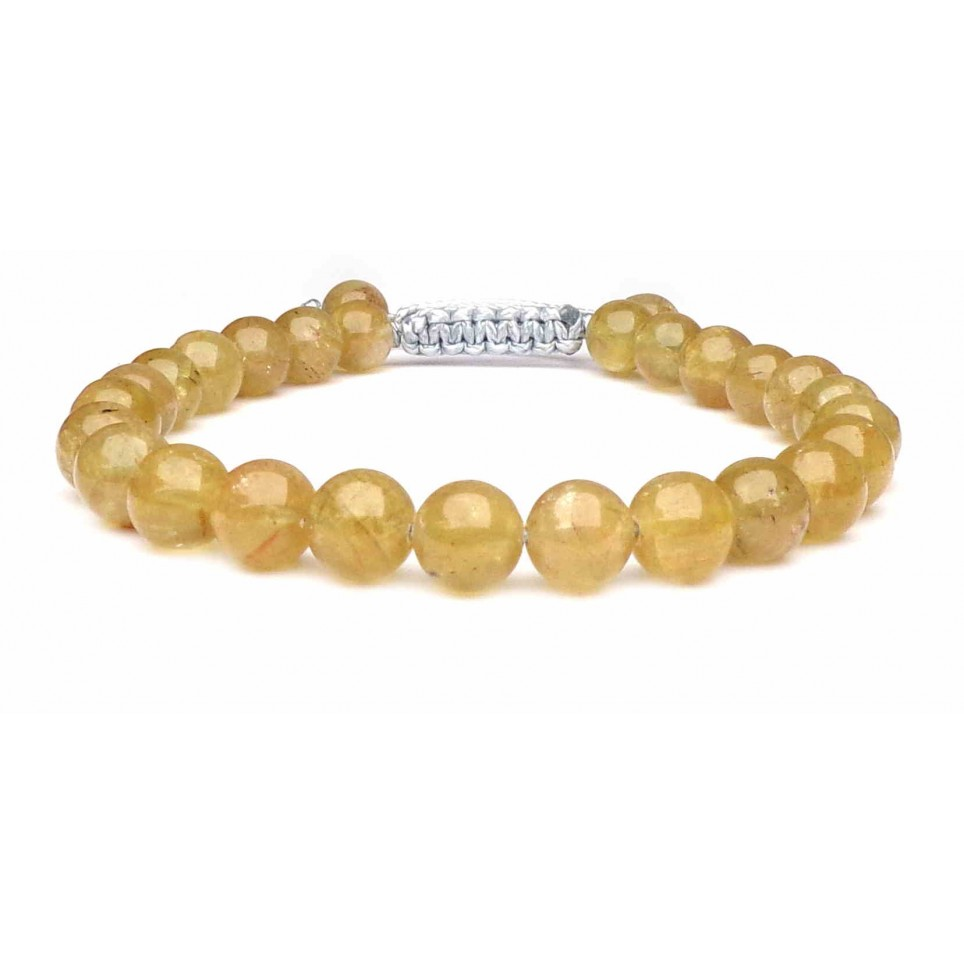 bracelet Apatite jaune