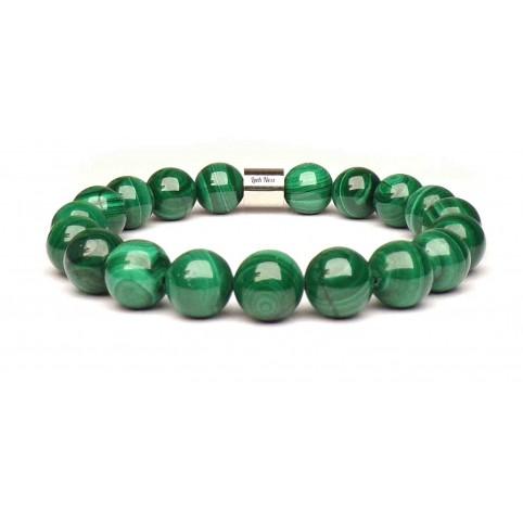 bracelet malachite naturelle