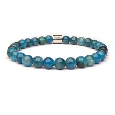 bracelet en apatite pierre naturelle