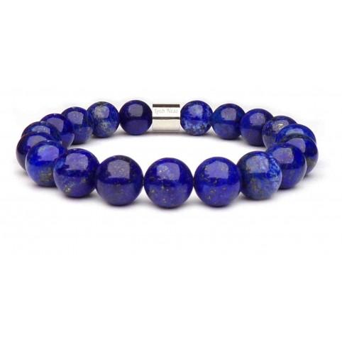 bracelet lapis lazuli indigo pierre naturelle