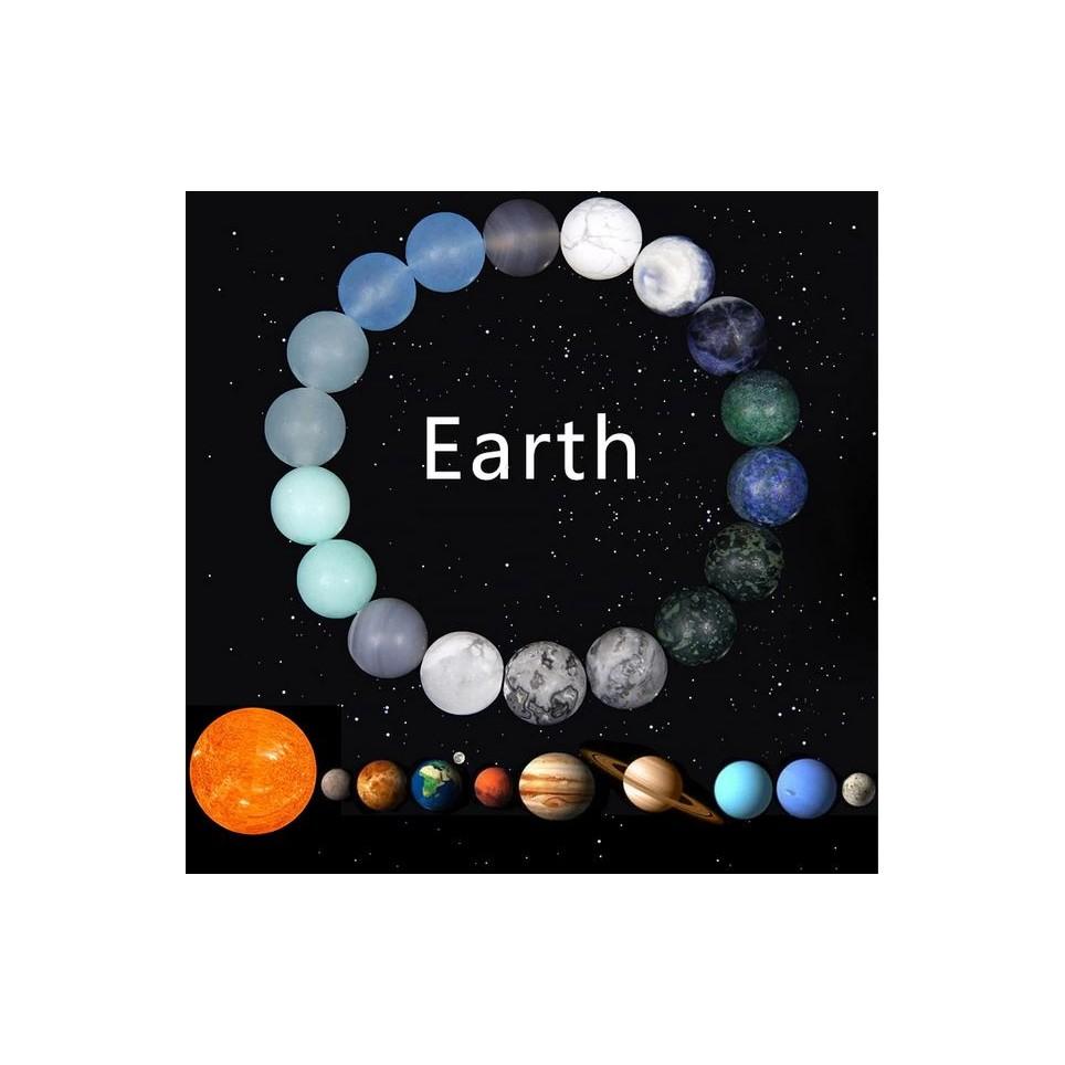 bracelet symbole plaète Terre
