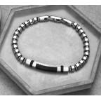 bracelet perles acier modifiiables