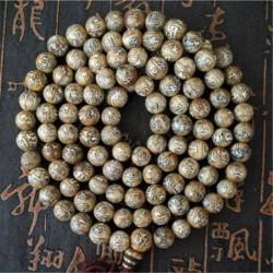 Collier mala 108 perles art Naga