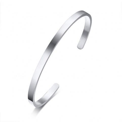 bracelet manchette simple homme