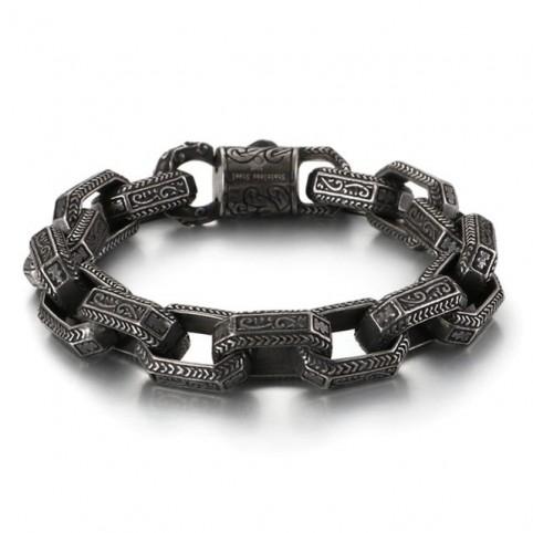 bracelet chaine à maillon homme