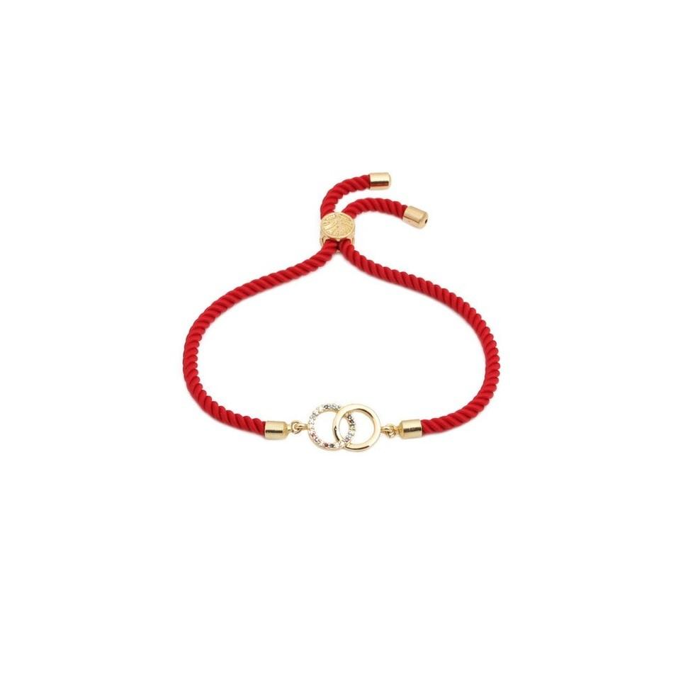 Bracelet fil rouge femme
