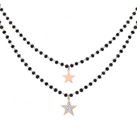 collier breloque étoile femme