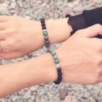 Bracelet couples avec aimant