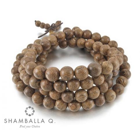 bracelet bouddhiste en bois