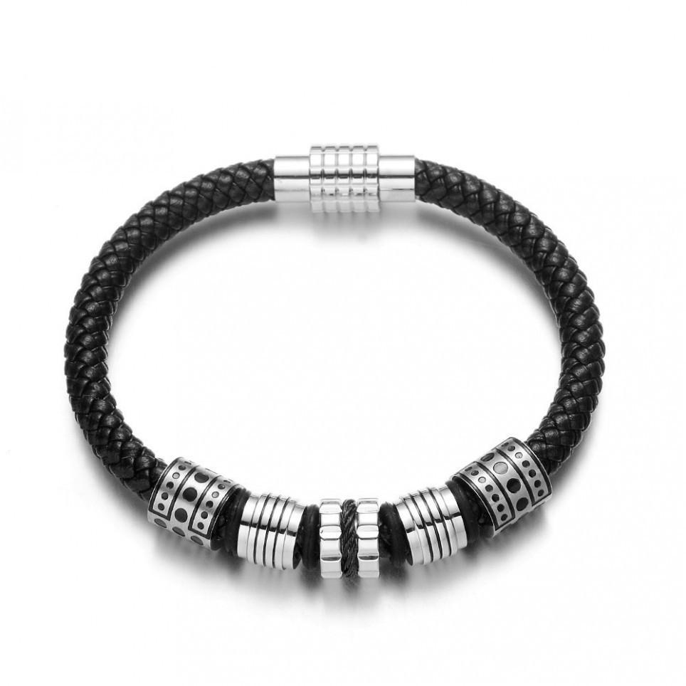 bracelet corde argent