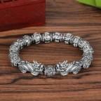 Bracelet feng shui obsidienne noire