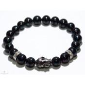 bracelet avec perles en hématite