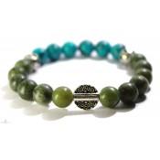 bracelet mala bouddhiste en jade