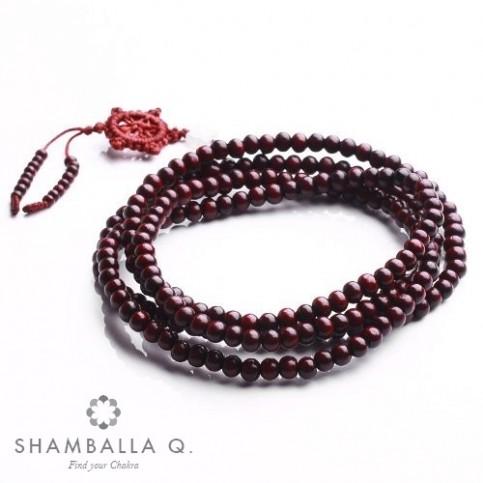 bracelet perle de bois