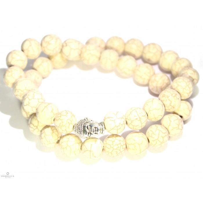 bracelet mala bouddhiste et bouddha