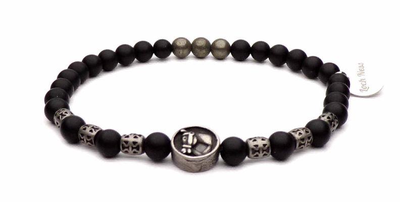 bracelet symbole fer a cheval