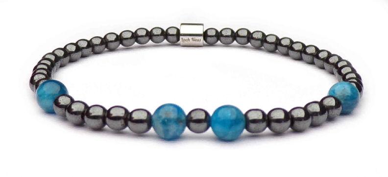 woman bracelet symbol apatite
