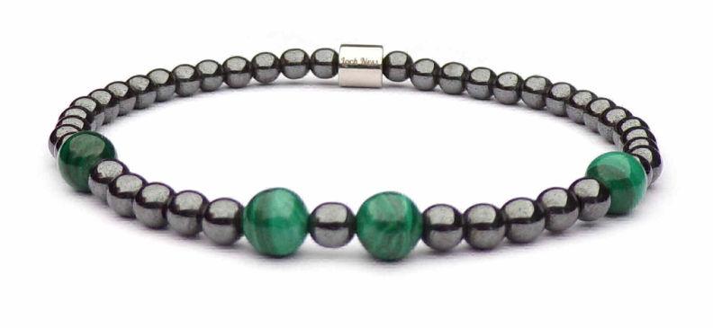 woman bracelet Malachite symbol