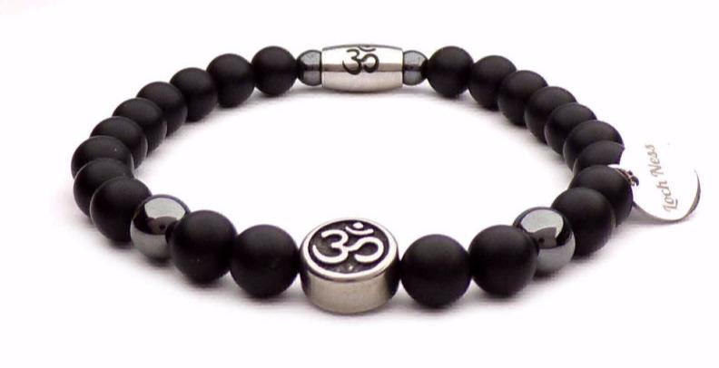 om Tibetan symbol bracelet