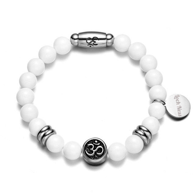 om symbolic tibetan bracelet
