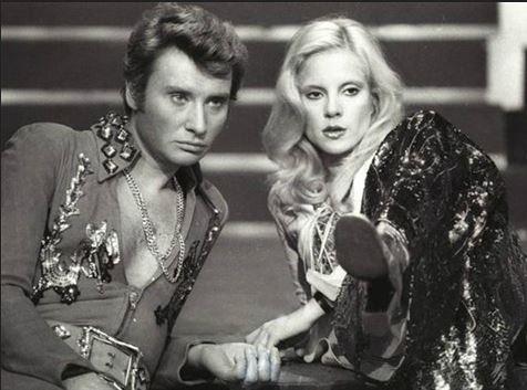 Johnny Hallyday avec Sylvie Vartan