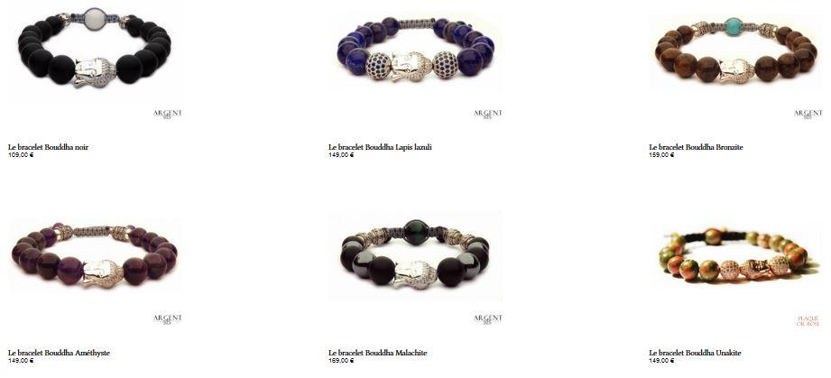 Bijoux Bouddha luxueux