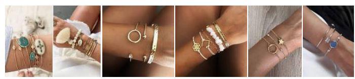 photo d'exemples de bracelets de bras