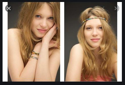 le bracelet de Léa Seydoux